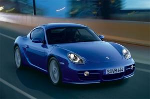 Новый Porsche Cayman блистает в Лас-Вегасе