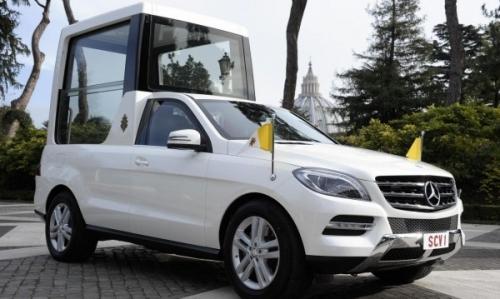 Новый гибридный автомобиль Папы Бенедикта XVI