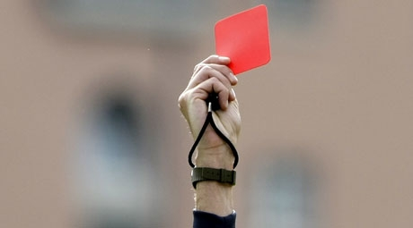 За январь 2013 года Реал набрал 5 красных карточек