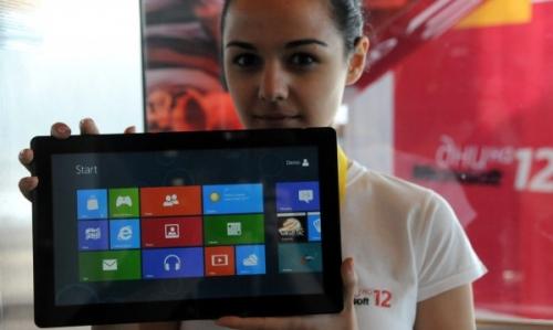 Продажи планшетов от Microsoft идут очень вяло