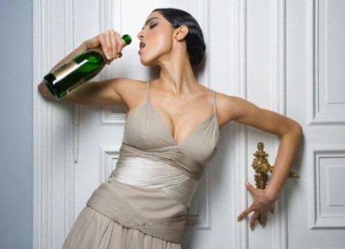 Замужние женщины пьют чаще, чем незамужние