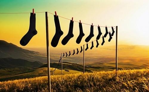 Ящик с носками – излюбленное место для хранения домашних ценностей